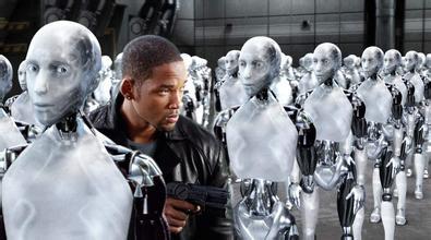 """此图为电影""""我 机器人"""""""