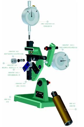 422A可调外螺纹测量仪结构示意图