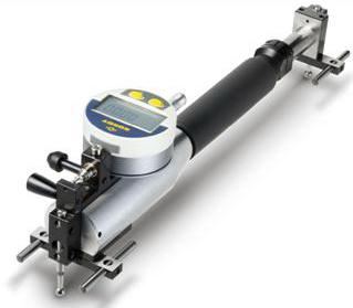 大量程内外齿跨棒距综合测量仪