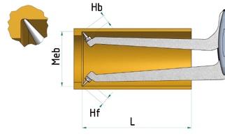 内径盲孔测量卡规